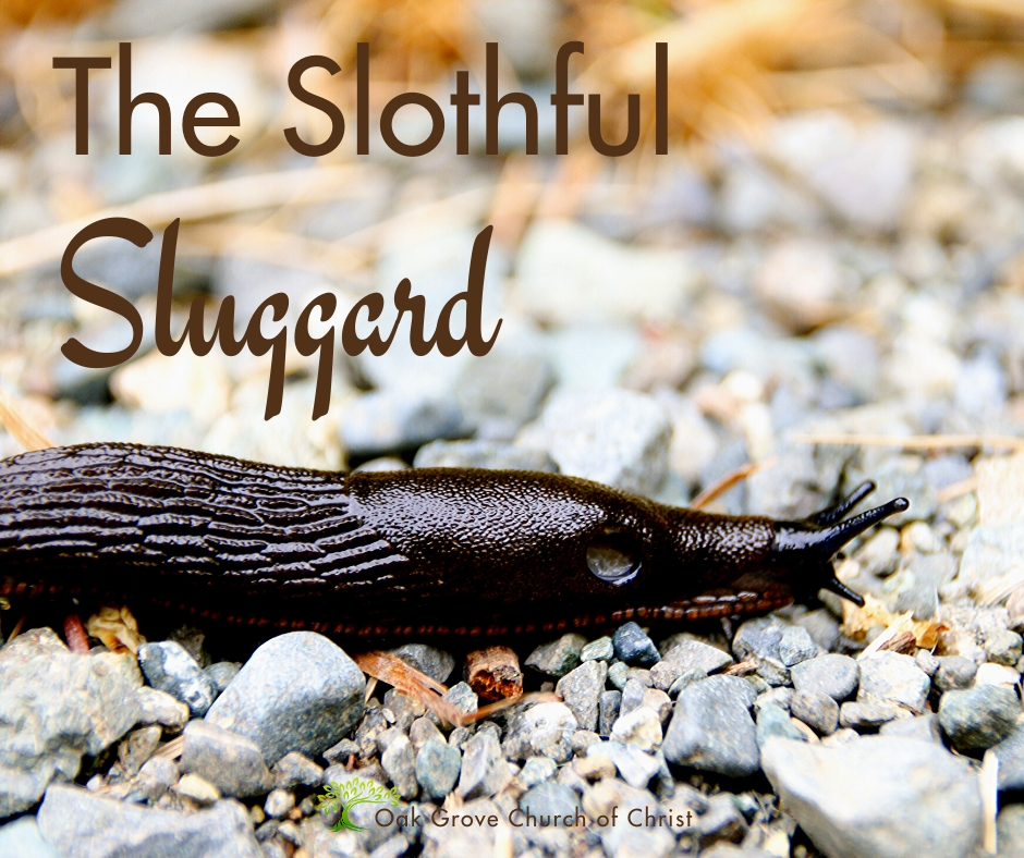 The Slothful Sluggard | Jack McNiel, Evangelist, Oak Grove Church of Christ