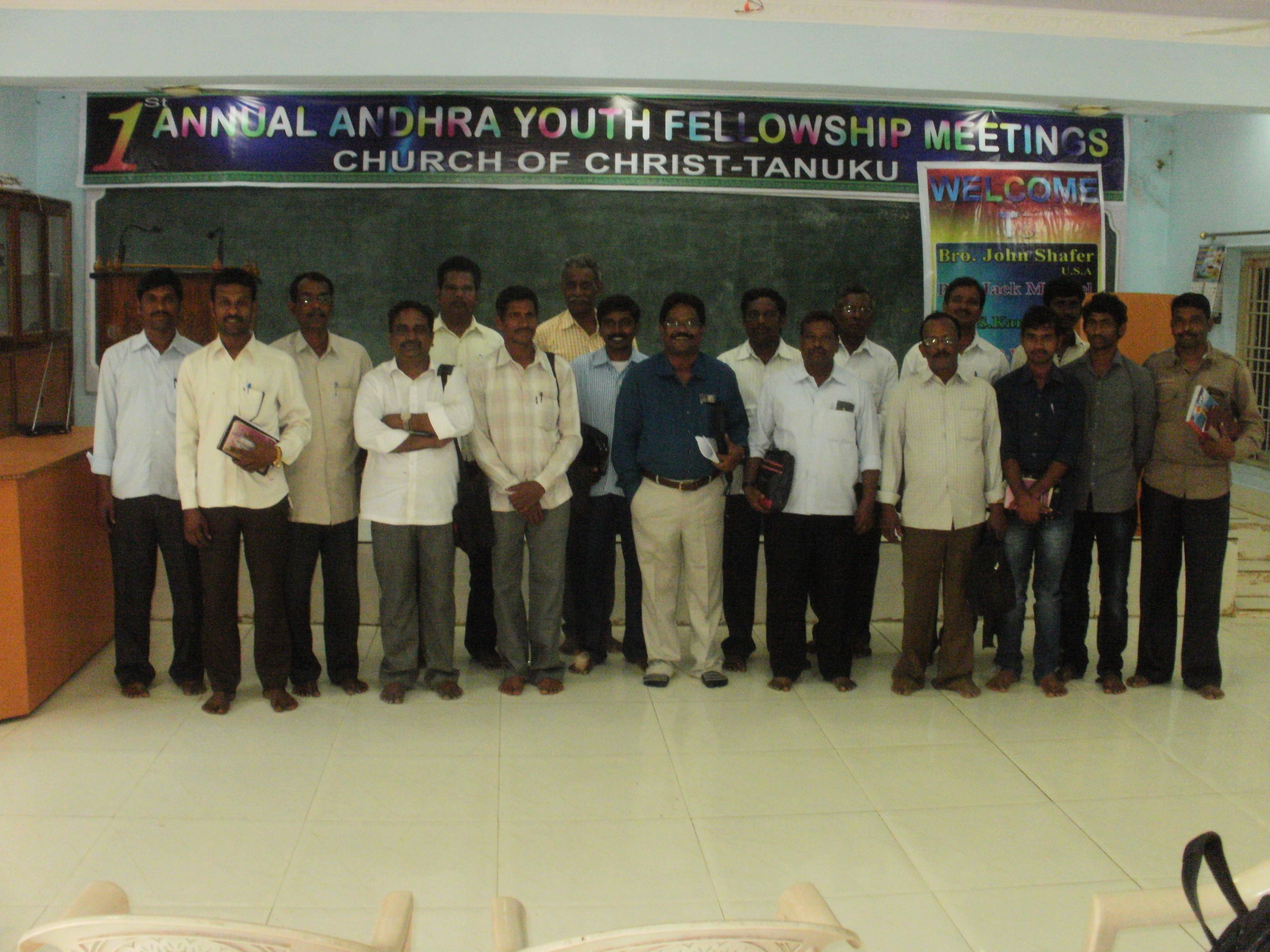 Tanuku Preachers Class