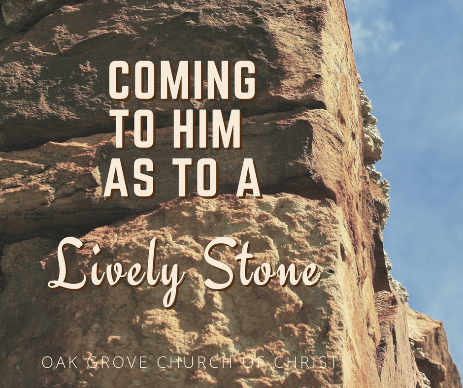 Coming to Him as to a Living Stone