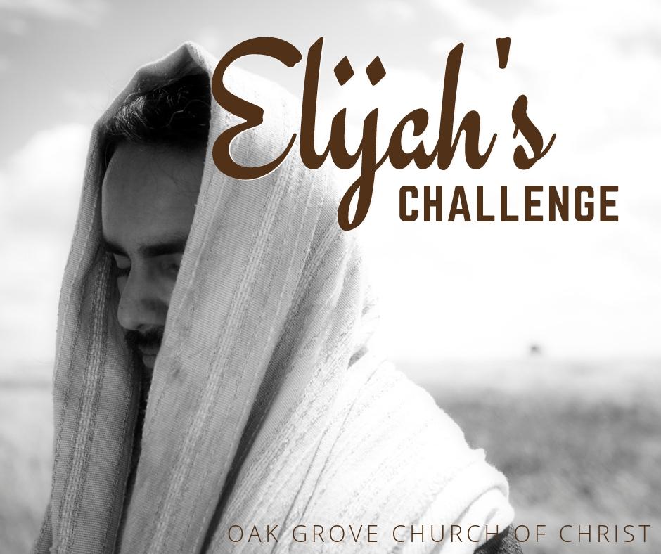Elijah's Challenge