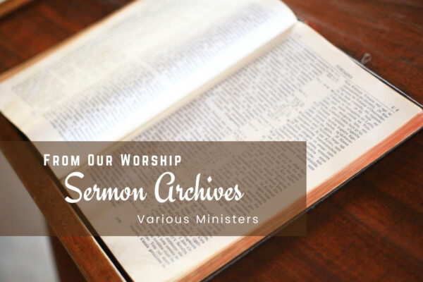 Sermon Archives   Oak Grove Church of Christ