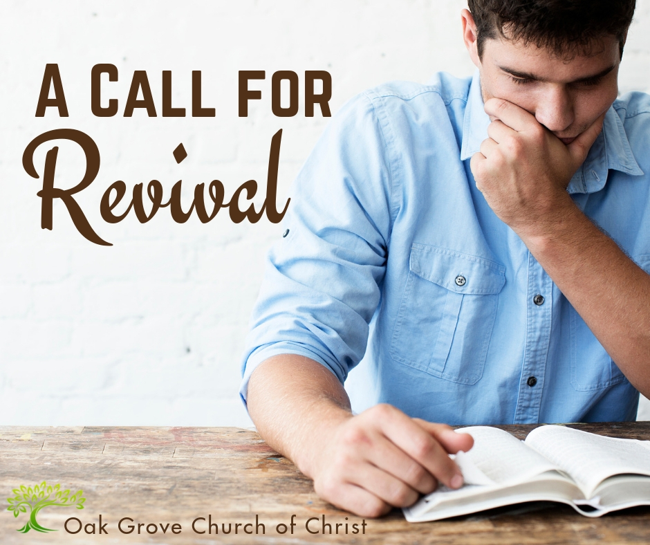 A Call for Revival