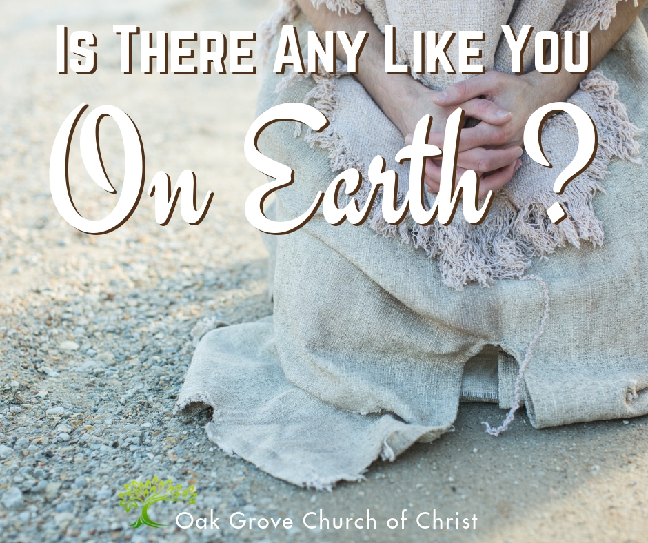 Is There Any Like You on the Earth?