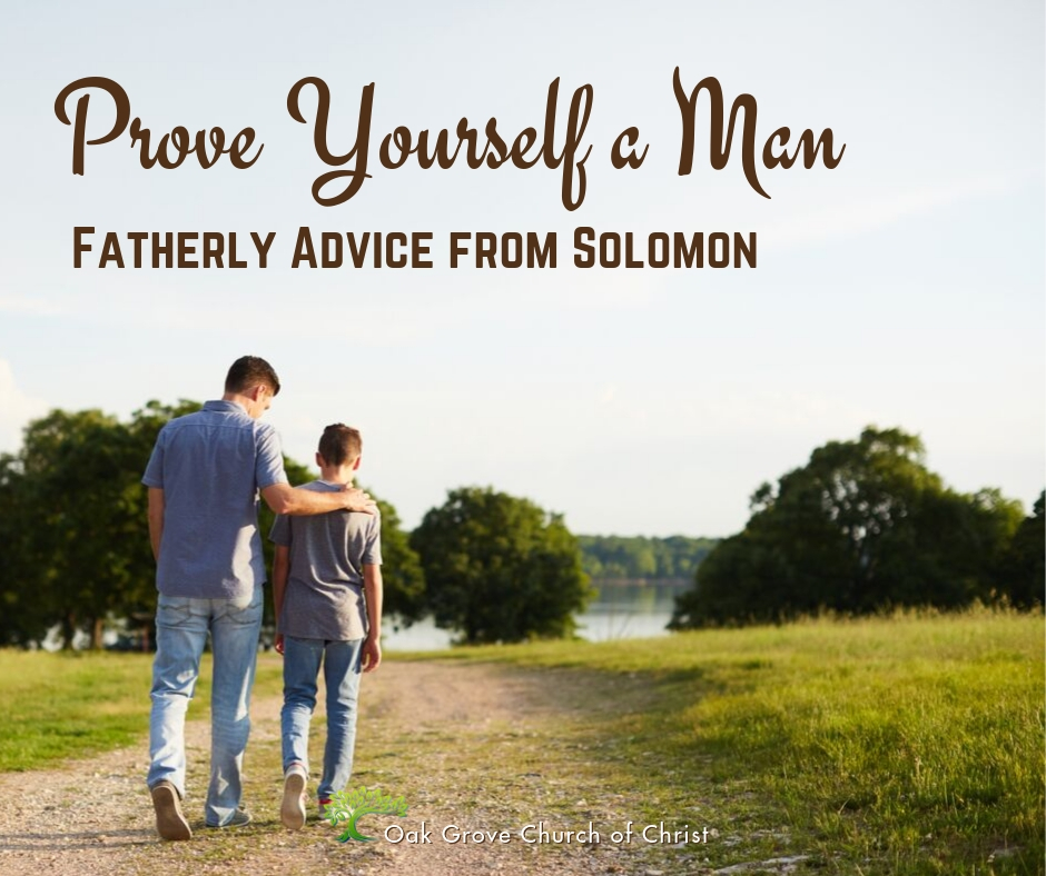 Prove Yourself a Man