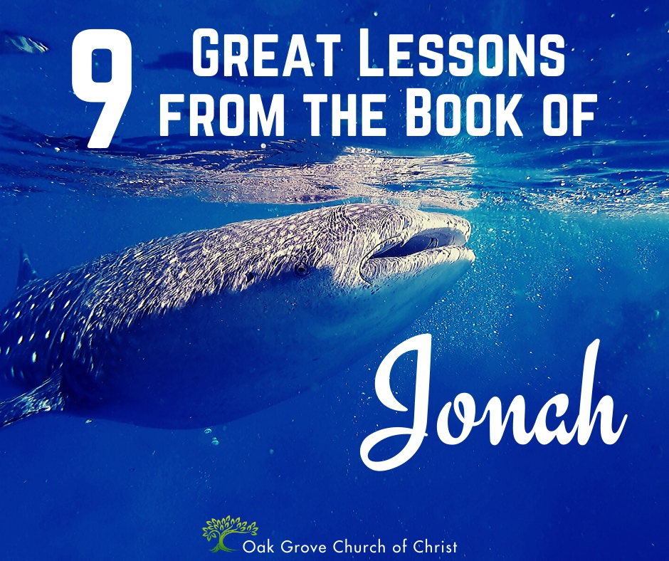 Nine Great Lessons from the Book of Jonah