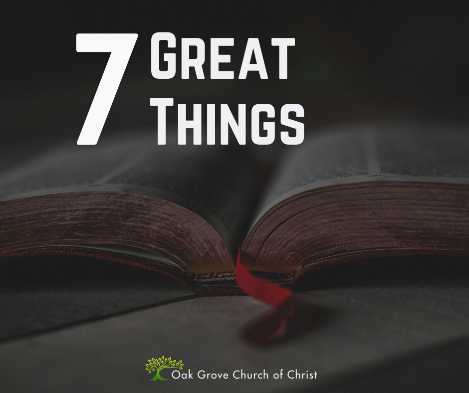 Seven Great Things