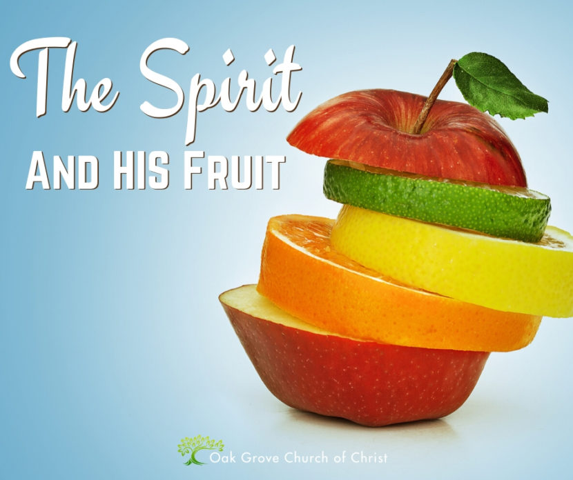 The Spirit and His Fruit