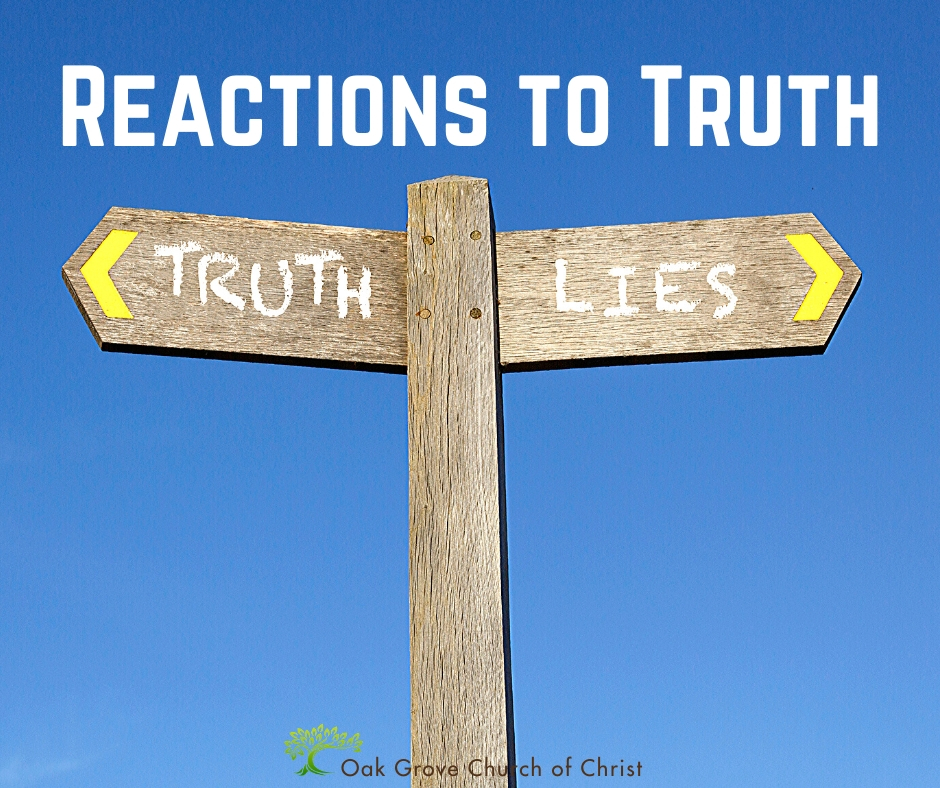 Reactions to Truth