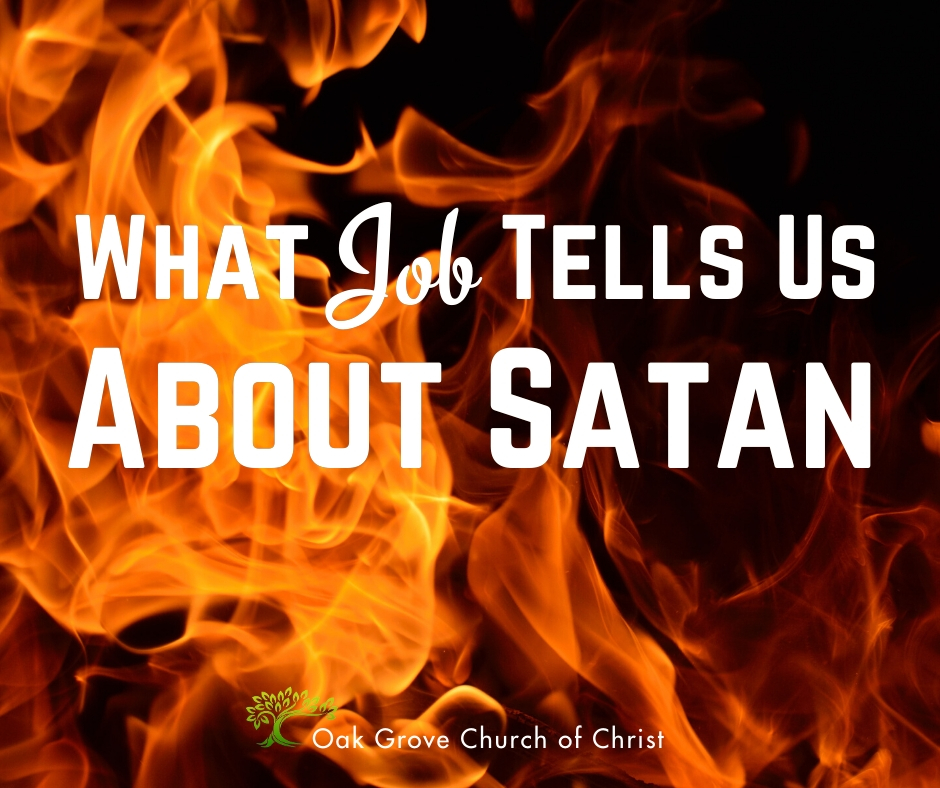 What Job Teaches Us About Satan