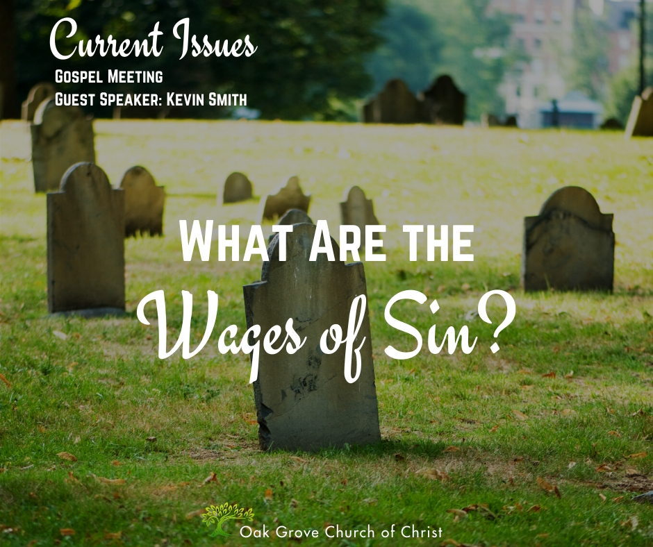 What are the Wages of Sin?