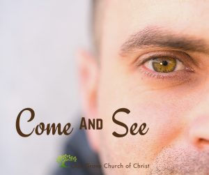 Come ans See, Seeing Jesus through the Eyes of Peter | Oak Grove Church of Christ, Jack McNiel, Evangelist